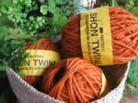 hemp twine orange