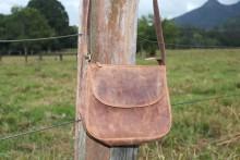 Saddle Bag Hunter Leather IN-AE-FA77